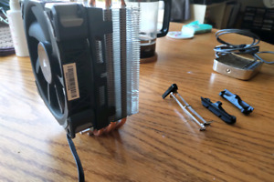 Cooler Master Hyper 212 CPU Cooler with Maglev Fan and AM4 mount
