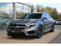 Mercedes-Benz GLA Class 2.0 GLA45 AMG (Premium) Speedshift DCT 4MATIC 5dr SUV Pe