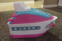 Barbie Cruise Ship with accessories