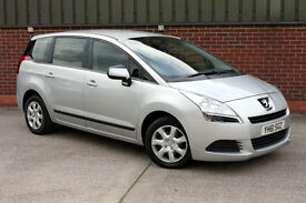 Peugeot 5008 1.6HDi 112 bhp FAP Active - 2011 61 Reg - Diesel - £130 A Year Tax