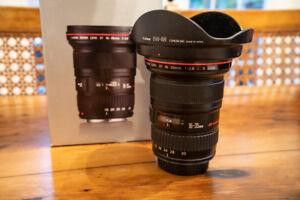 Canon 16-35mm f2.8 L II Lens