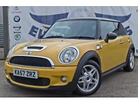 2007 MINI COOPER S 1.6 BLACK ROOF/ROOF SPOILER/MIRRORS BLACK PRIVACY GLASS CHROM