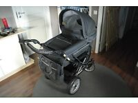 Emmaljunga mondial deluxe leather pram and pushchair with extras No Dealers! No offers