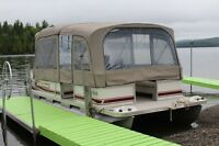 pontoon 2002 21' in excellent condition 50hp mercury