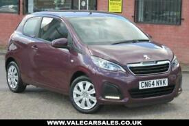 image for 2014 64 PEUGEOT 108 1.0 ACTIVE (LOW MILES+GREAT HISTORY) 3DR