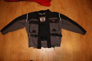 First Gear Ladies Motorcycle Jacket