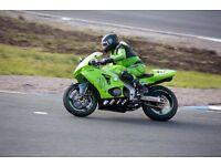Kawasaki ZX6R G2 Track bike + spares