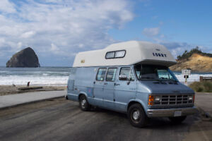 1991 Dodge Conversion Camper Van The Lorry