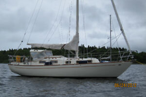 Alberg 29 Sailboat with Custom trailer