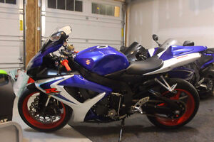 06 gsxr 600 10 out of 10 mint