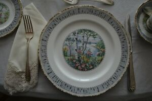 China dishes - Silver Birch