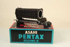 Pentax Auto Bellows II works with Canon EOS