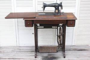Reduced - Vintage Singer Treadle Sewing Machine Chermside Brisbane North East Preview
