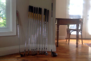 Full set of LH golf clubs