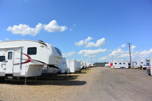 Storage Compound in Regina for RV, Motor Home, Car, and Boat
