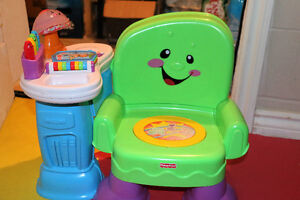Fisher Price Laugh & Learn Chair.
