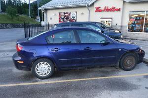 2004 Mazda Mazda3 Sport Blue Berline