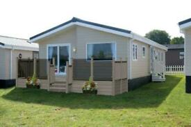 DELTA SWANLEY 2021 MODEL LODGE 40X20 2 BED D/G C/H - FREE UK DELIVERY