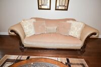 Sofa set with center table - Excellent condition