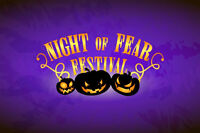 Night of Fear Festival is now open for product vendors