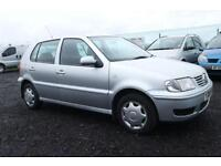 2001 VOLKSWAGEN POLO 1.4 MATCH 5D AUTO 60 BHP