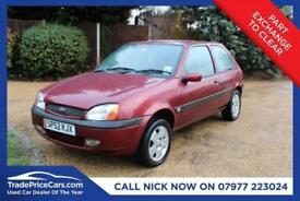 2002 52 FORD FIESTA 1.2 FREESTYLE 16V 3D 74 BHP