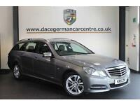 2011 11 MERCEDES-BENZ E CLASS 1.8 E200 CGI BLUEEFFICIENCY S/S AVANTGARDE 5DR 184