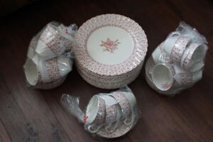 ROSE BOUQUET Ironstone Dinnerware