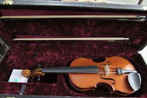 Viola full size with case and bows Windsor Region Ontario image 1