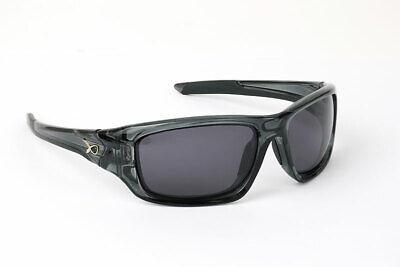Matrix Trans Black Frame Wraps / Grey Lens Polaroid Sunglasses GSN001