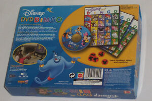 Disney DVD Bingo Game Mickey Minnie Mouse Lion King, Snow white Sarnia Sarnia Area image 3