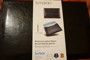 Surface Leather Sleeve for Surface 2, Pro 2, Pro 3, or Pro 4
