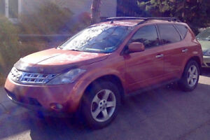 2004 Nissan Murano SL SUV, Crossover with Hitch
