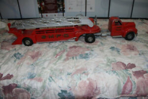 Vintage Smith and Miller 2 PCS Fire Truck