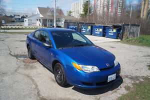 2004 Saturn ION Midlevel Coupe (2 door) Kitchener / Waterloo Kitchener Area image 1