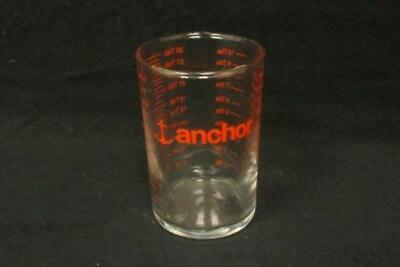 Anchor Measuring Shot Glass Cup Clear Red Kitchen Tbs Ml Oz Tsp