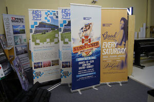 Retractable Banner-All Large Format Print supplies