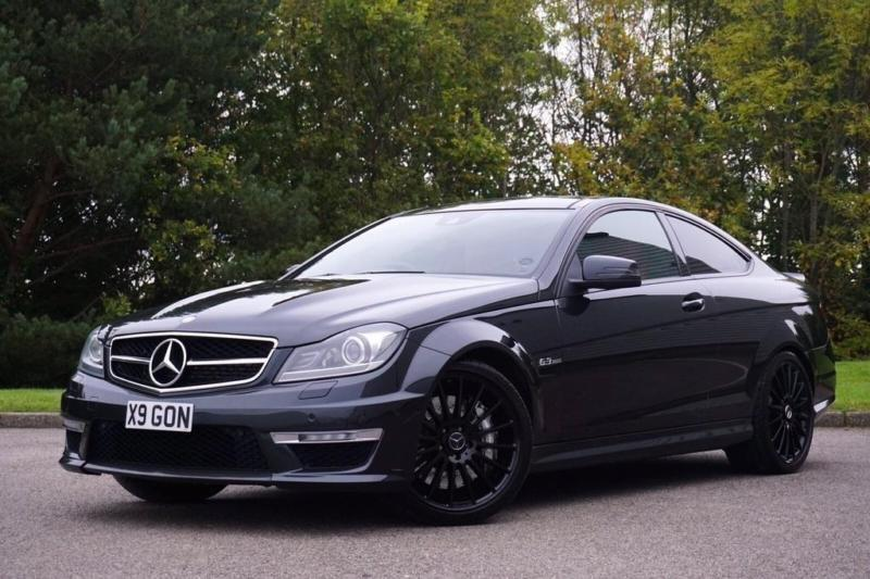 2012 mercedes benz c class 6 3 c63 amg edition 125 coupe 2dr petrol in seaham county durham - Mercedes c class 2012 coupe ...