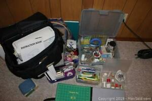 Janome Sewing Machine And Supplies