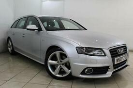 2010 10 AUDI A4 2.0 AVANT TDI S LINE SPECIAL EDITION 5DR 141 BHP DIESEL
