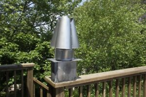 Cloverleaf Stainless Steel Chimney Cap