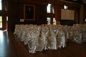 RENT Chair covers, Sashes, table Cloth, napkin rings, Kitchener / Waterloo Kitchener Area image 2