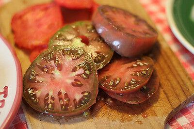 tomato, BLACK KRIM, heirloom, russian, 25 seeds! (Black Krim Heirloom Tomato)
