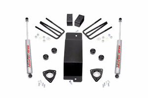 """3.5"""" Rough Country SUSPENSION LIFT 07-16 Chevrolet GMC 1500"""