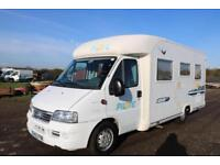 Pilote Pacific P8 Fixed Bed Low Line Motorhome LHD MANUAL 2003/03