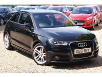 2012 61 AUDI A1 1.6 TDI S LINE 3D 103 BHP DIESEL OVER £3,000 OF UPGRADES + FASH