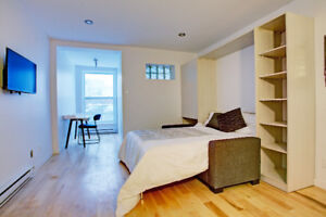 McGill Ghetto All Included and Fully Furnished Apt. Studio/Loft