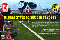 Professional Soccer Tryouts!