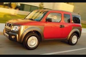 Honda Element - SUV, Crossover