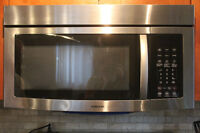 hotte micro-onde samsung stainless